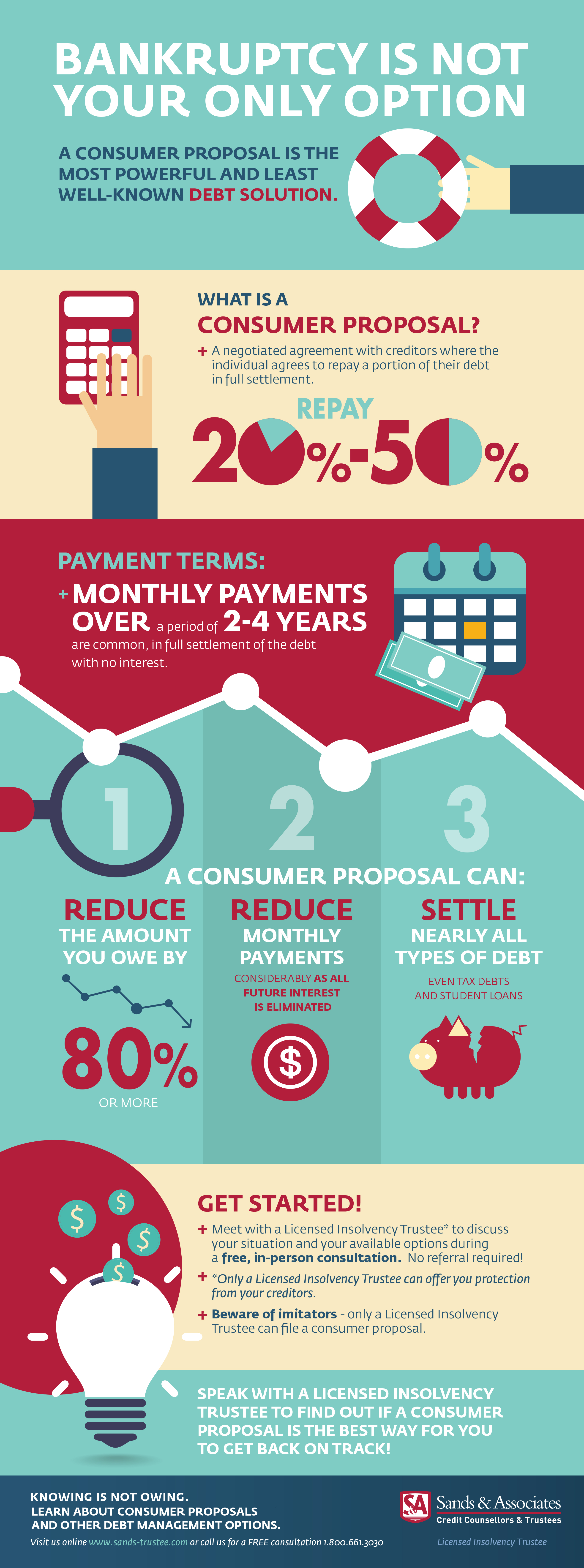 Consumer Proposal Infographic
