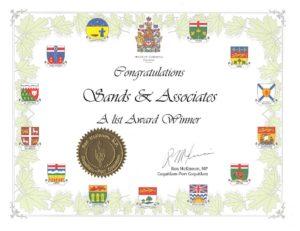 Sands & Associates - A-List Winner - Tricities